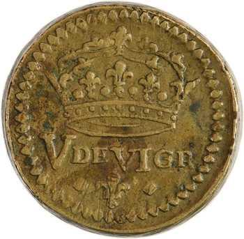 Louis XIII à Louis XIV, poids monétaire du louis aux 8 L, (1610-1643)