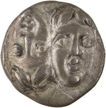 Thrace, Istros, drachme (delta-I), IVe s. av. J.-C