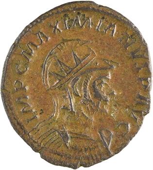 Maximien Hercule, aurelianus, Lyon, 3e officine, 287-289