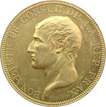 Consulat, médaille en bronze doré par Droz, la Paix d'Amiens, 1802 Paris