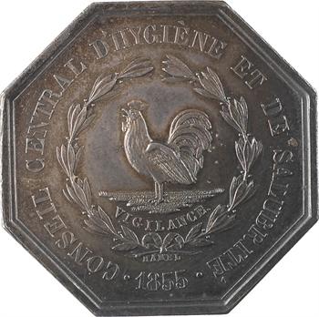 Second Empire, conseil d'hygiène et de salubrité de la Seine Inférieure, par Hamel, 1855 Paris