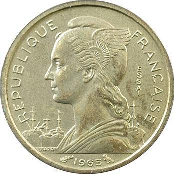 Côte Française des Somalis, essai de 10 francs, 1965