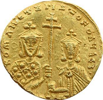 Romain Ier et Christophe, solidus, Constantinople, 913-959