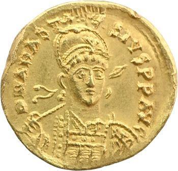 Anastase, solidus, Constantinople, 491-498