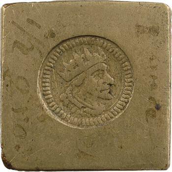 Italie, poids monétaire, ducaton nouveau de Milan, s.d