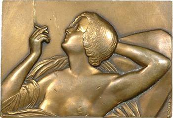 Lenoir (P.) : Fumeuse ou femme à la cigarette, s.d. (1931) Paris