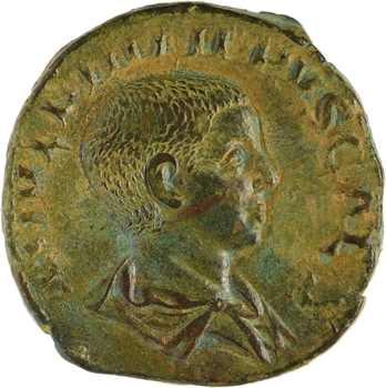 Philippe II, sesterce, Rome, 245-246