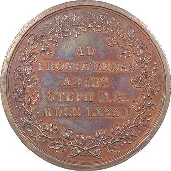 Louis XVI, Académie des Sciences, encouragement pour les Arts, 1782 Paris