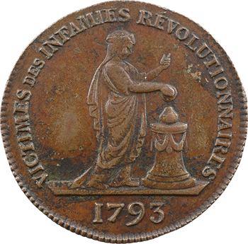 Mort de Marie-Antoinette, victime des infamies révolutionnaires, 1793 (Restauration ?) Paris