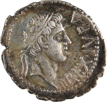 Maurétanie, Juba II, denier, Caesarea, 25 av.J-C.-23 ap
