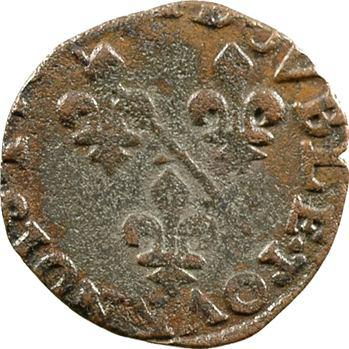 Dombes (principauté de), Louis II, double tournois 2e type, 15[81-82] Trévoux