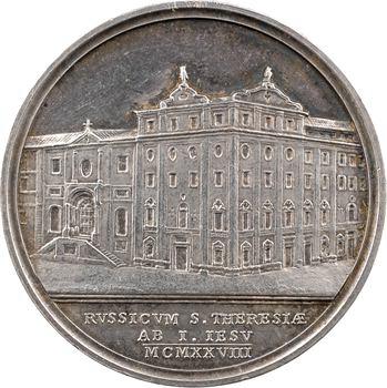 Vatican, Pie XI, médaille annuelle, le Collège Russicum à Rome, 1928 Rome