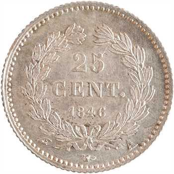 Louis-Philippe Ier, 25 centimes, 1846 Paris