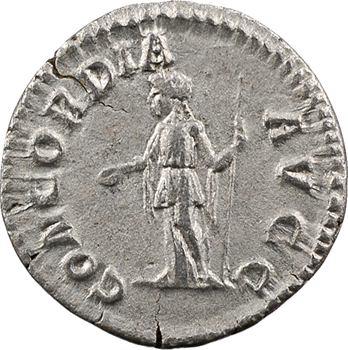 Plautille, denier, Rome, 202