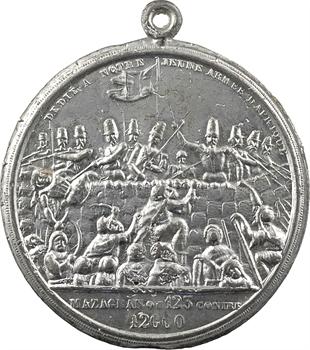 Algérie, Louis-Philippe Ier, la colonne de juillet et victoire de Mazagran, 1840 Paris