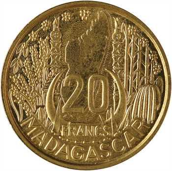 Madagascar, essai de 20 francs, 1953 Paris