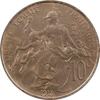 IIIe République, 10 centimes Daniel-Dupuis, 1913 Paris