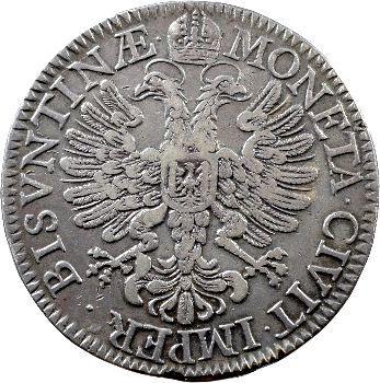 Besançon (ville de), daldre ou patagon, 1661