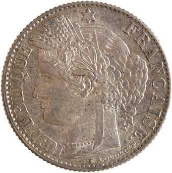IIIe République, 50 centimes Cérès, 1872 Bordeaux