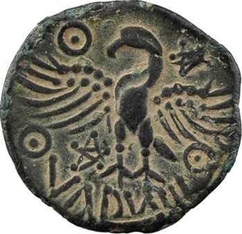 Bituriges Cubes, bronze à l'aigle VANDIINOS, c.60-40 av. J.-C