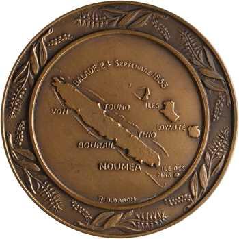 Nouvelle-Calédonie, centenaire de la Nouvelle-Calédonie française, 1853-1953 Paris