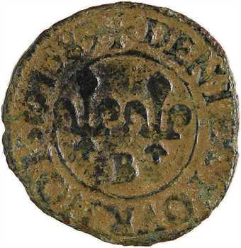 Henri III, denier tournois, 1589 Rouen
