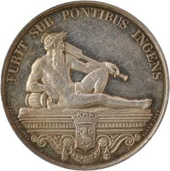 Second-Empire, Compagnie des ponts sur le Rhône à Lyon, par Barre, 1844 (post.) Paris