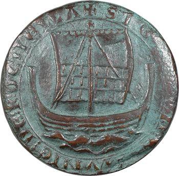 Ve République, reproduction du sceau de la ville de La Rochelle, N°135/500, 1978 Paris