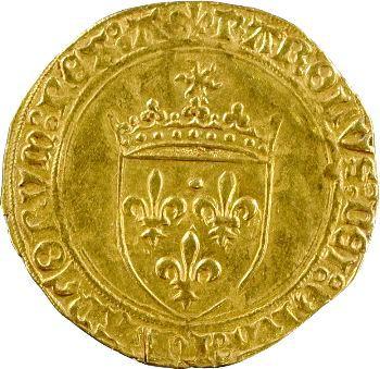 Charles VIII, écu d'or au soleil, 2e émission, Angers