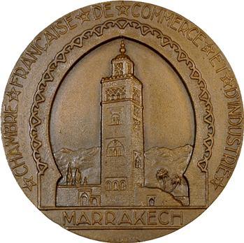 Maroc, Chambre de commerce et d'industrie de Marrakech par Baron