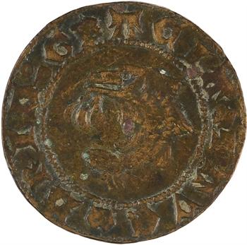 Dauphiné, jeton de compte au dauphin, c.XVe siècle