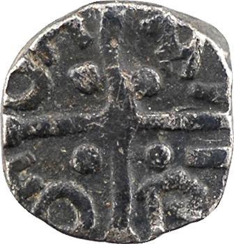 Bourgogne, Chalon-sur-Saône, (monétaire illisible), denier, c.650-700