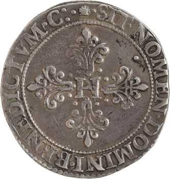 Henri III, franc au col fraisé, 1584 Toulouse