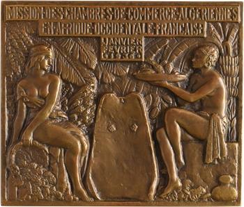 Algérie, mission des Chambres de commerce en AOF, attribuée, 1936 Paris