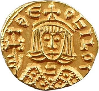Théophile, trémissis, Syracuse, 829-842
