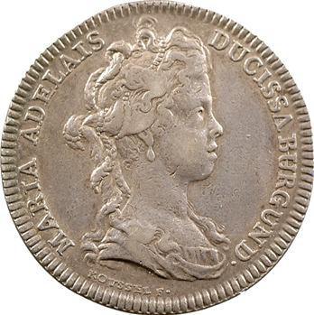 Bourgogne (duché de), Marie-Adelaïde de Savoie, 1698