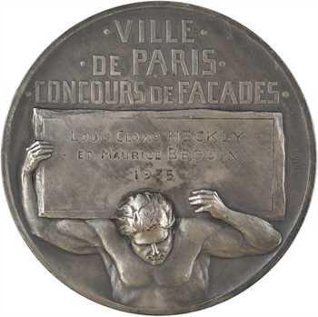 Pillet (Ch.) : concours de façades de la ville de Paris, 1935 Paris