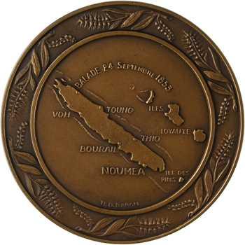 Nouvelle-Calédonie française, centenaire de la présence française, 1853-1953 Paris