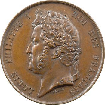 Louis-Philippe Ier, souscription pour l'érection des tables monumentales, par Barre et Borrel, 1838 Paris