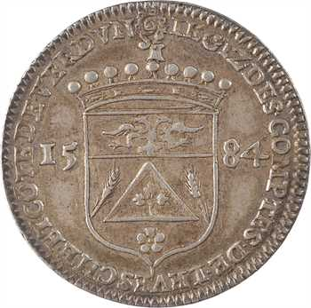 Verdun, Nicolas Bousmard, évêque et comte de Verdun, 1584
