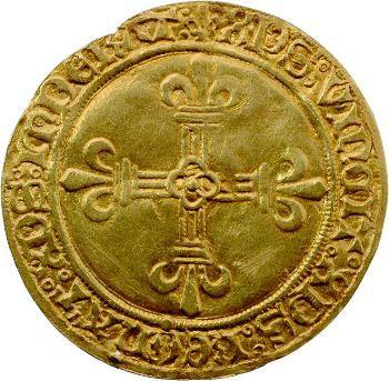 Charles VIII, écu d'or au soleil, 2e émission, Rouen