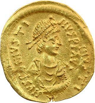 Justin II, semissis, Constantinople, 565-578