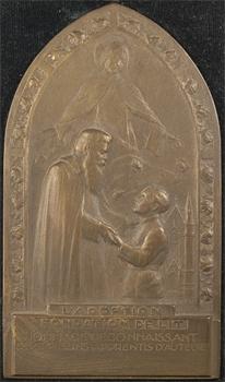 Becker (E.-H.): reconnaissance des Orphelins-apprentis d'Auteuil (l'adoption), s.d. Paris