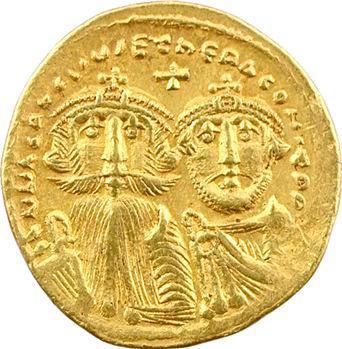 Héraclius et Héraclius Constantin, solidus, Constantinople, c.629-632