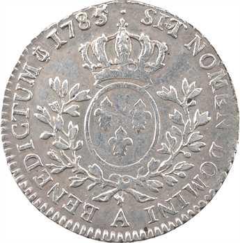 Louis XVI, cinquième d'écu aux branches d'olivier, 1785/4, 1er semestre, Paris