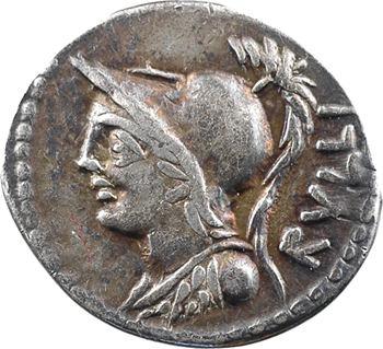 Servilia, denier, Rome, 100 av. J.-C.