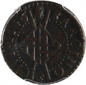 Catalogne, Louis XIV, sizain, 1646 Barcelone, PCGS MS62BN