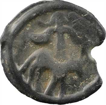 Éduens, potin à la légende SEGISV, c.60-40 av. J.-C