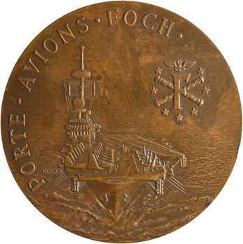 Prud'homme (G.) : le porte-avions Foch, 1918 (1976) Paris