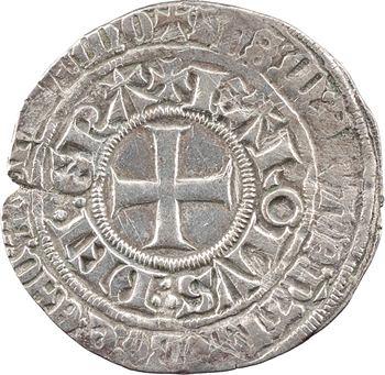 Navarre (royaume de), Charles Ier le Mauvais, gros esterlin, s.d. (1349-1387)